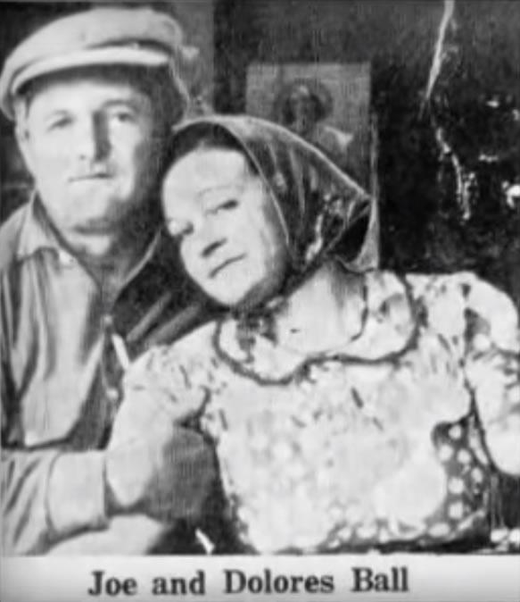Joe e Dolores Ball. Foto: Joe Ball Serial Killer Documentary.
