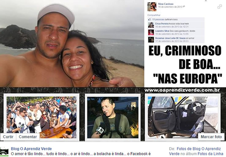 Em uma decisão bastante criticada o juiz Antônio Fernandes de Oliveira revogou a prisão de todos os réus. O açougueiro Marcus Vinícius fugiu para Portugal e passou a publicar fotos de sua nova vida no Facebook. Nós do blog o Aprendiz Verde chegamos a publicar um post em nosso perfil na rede social.