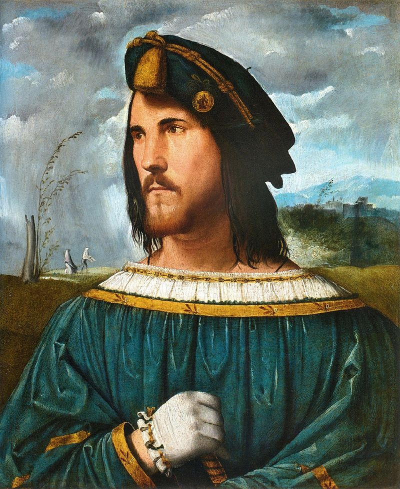 Retrato de Cesar Borgia.