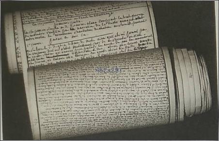 """Manuscritos originais de """"120 Dias de Sodoma"""". Maurice Heine — Paris : Par S&C."""