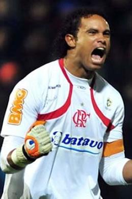 O goleiro do Flamengo Bruno. Reprodução Internet.
