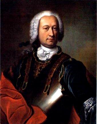 Jean Baptiste François Joseph, Conde de Sade e pai de Donatien.
