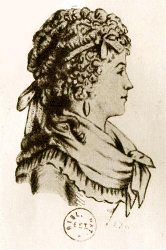 Retrato atribuído a Renée-Pélagie de Montreuil, a esposa do Marquês de Sade.
