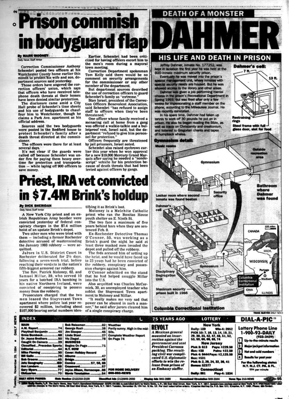 Reportagem de Época - A morte de Jeffrey Dahmer.