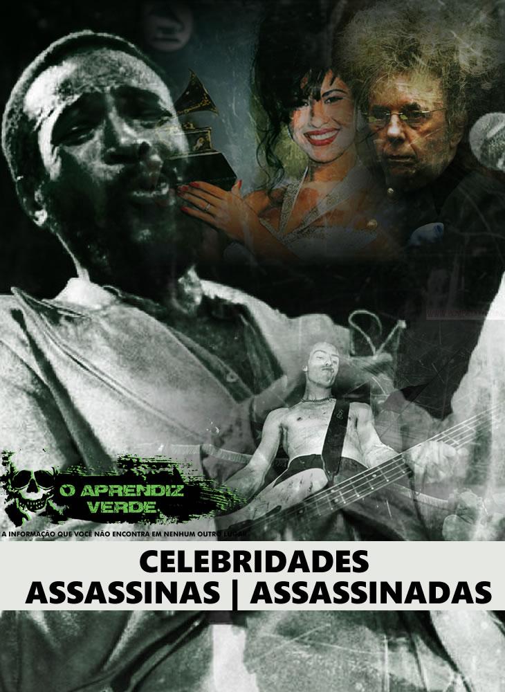 Celebridades Assassinas - Assassinadas - Capa