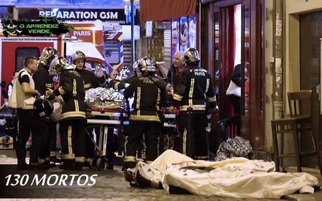 101 Crimes Notórios e Horripilantes de 2015 - Ataque a Paris