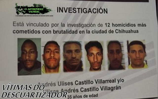 101  Crimes Notórios e Horripilantes de 2015 - Andrés Ulises Castillo Villarreal