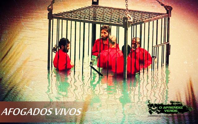 101 Crimes Notórios e Horripilantes de 2015 - ISIS Afogados Vivos