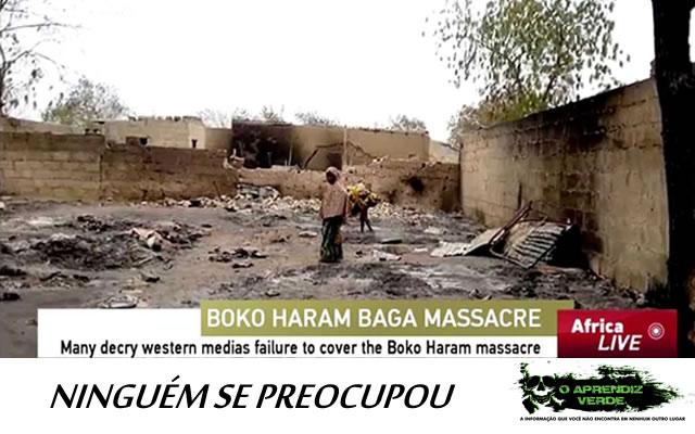 101 Crimes Notórios e Horripilantes de 2015 - Massacre em Baga