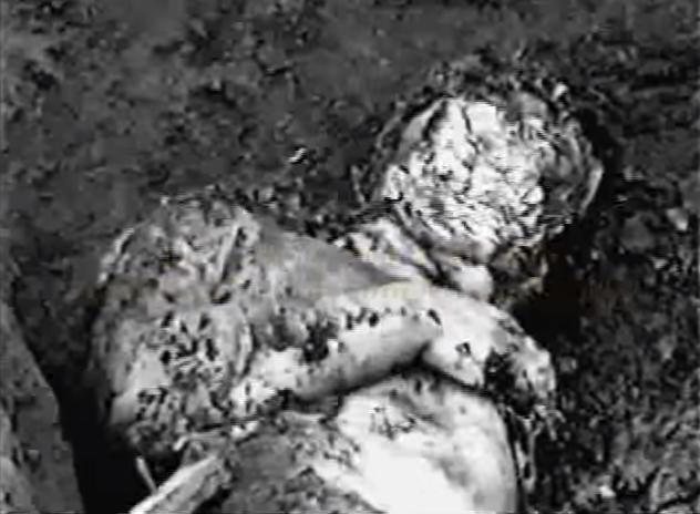Corpo de Mark Kilroy. Foto: Documentário Narcosatánicos.