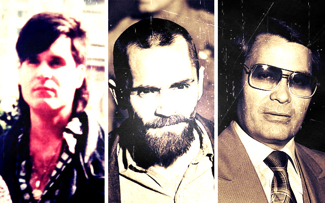 Trio Infernal - Adolfo Constanzo, Charles Manson e Jim Jones