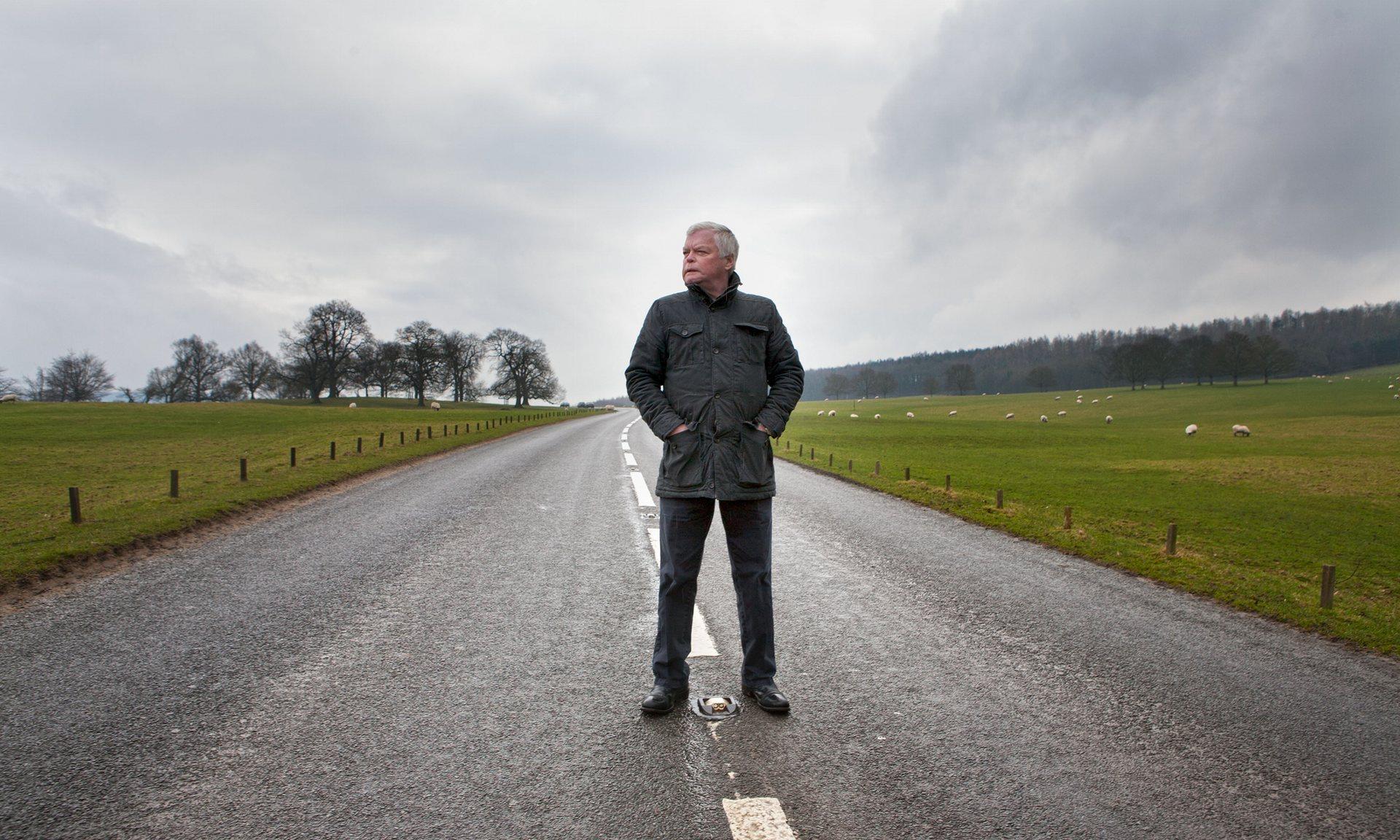"""Gary Calton. """"A polícia disse que eu havia tido um encontro com o Assassino da Rodovia"""". Foto: Gary Calton para The Guardian."""