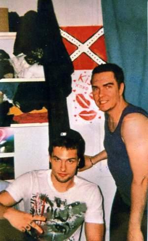Magnotta e o também condenado Jonathan Lafrance-Rivard.