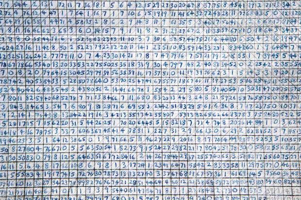 Página codificada encontrada entre os pertences de Ted Kaczynski. A mensagem foi decodificada pelo FBI e conteria confissões e discussões sobre os crimes do Unabomber.