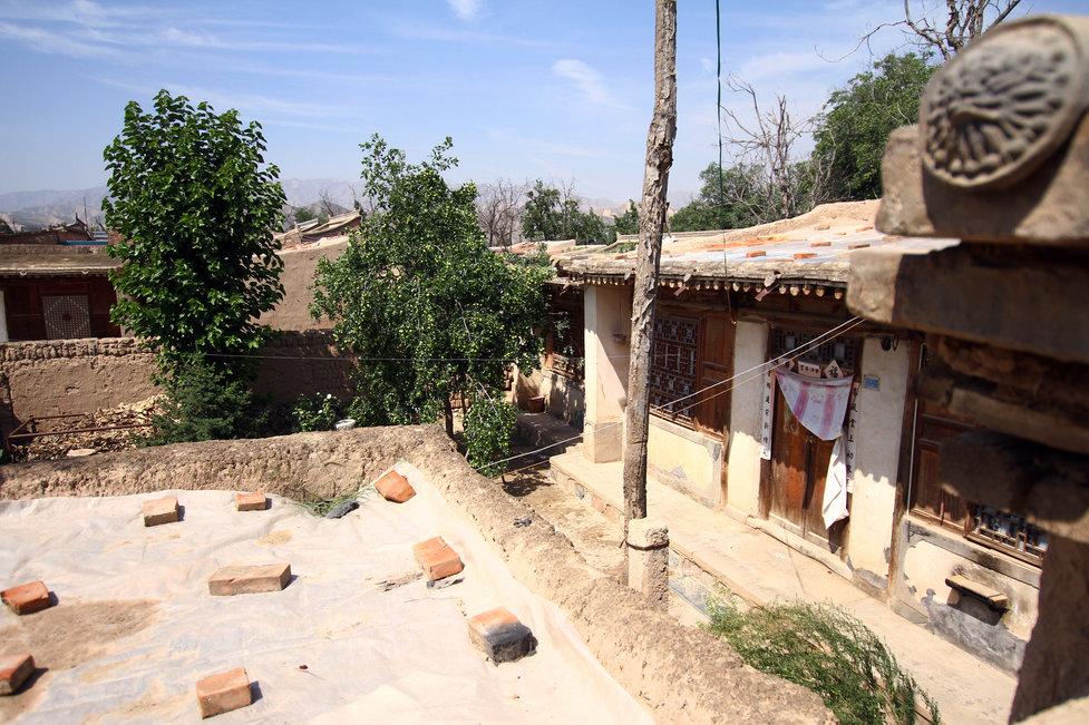 A casa onde Gao Chengyong morava com a família em Lanzhou, China. Ele foi preso acusado de assassinar nove mulheres em Baiyin e duas outras na Mongólia Interior. China Foto Press.