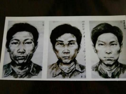 Retrato falado do serial killer mutilador que escapou da polícia por 28 anos.