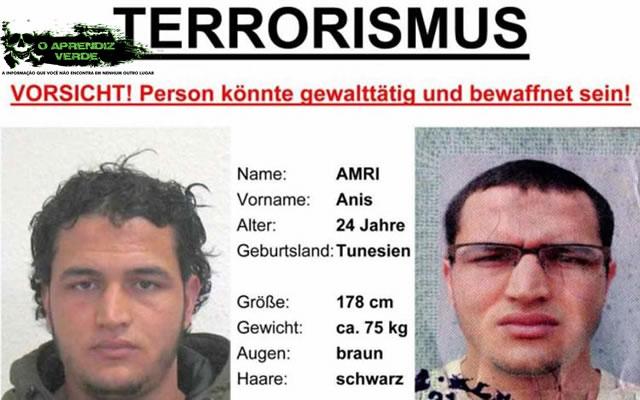 Anis Amri - 101 Crimes Notórios e Horripilantes de 2016