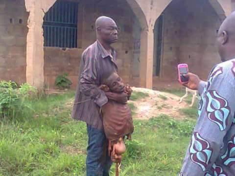 Canibais em Uganda