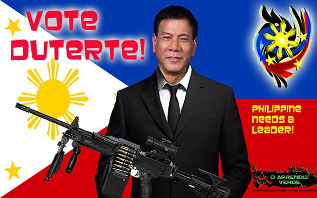 Rodrigo Duterte - 101 Crimes Notórios e Horripilantes de 2016