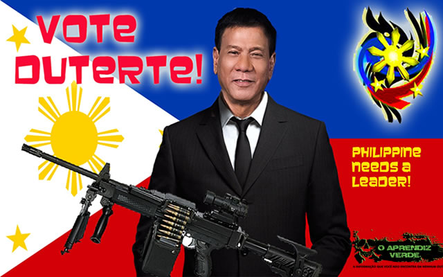 Rodrigo Duterte - 101 Crimes Notórios e Horripilantes de 2016