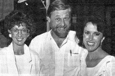 Carolyn Day, Bob Bishop e Sandra Bridewell.