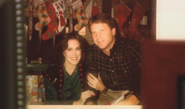 Sandra e seu terceiro marido Alan Rehrig.