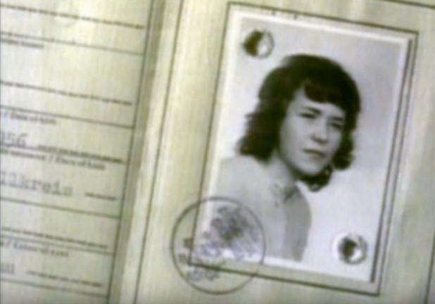 Margaret Schaefer, encontrada morta em um bosque da Áustria em 1974. Foto: Poet of Death.