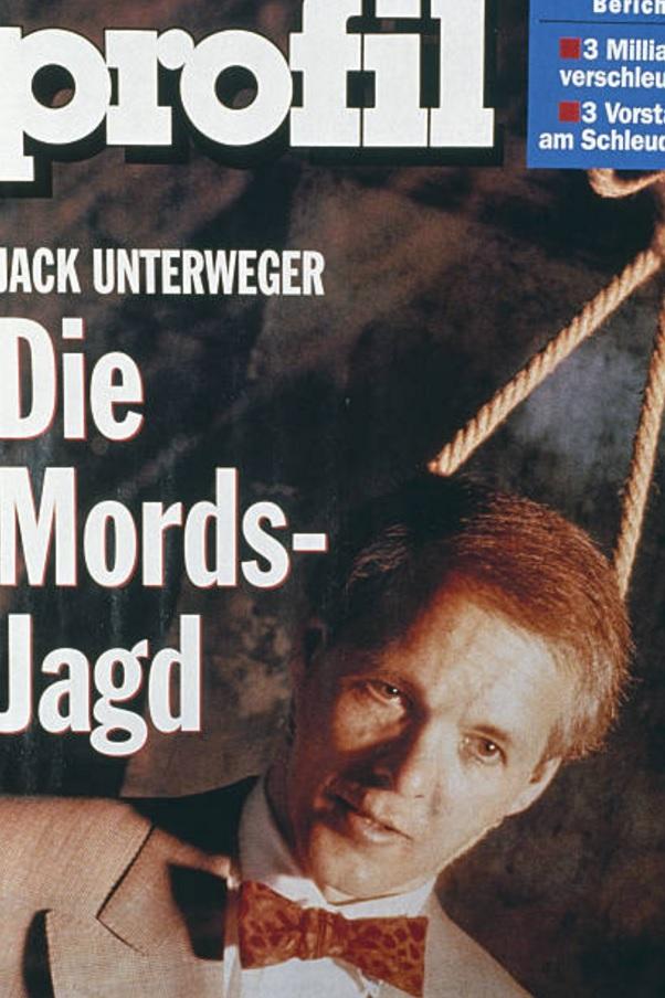 Unterwegger foi tema de diversas reportagens da mídia austríaca em 1992. Foto: Revista Profil.