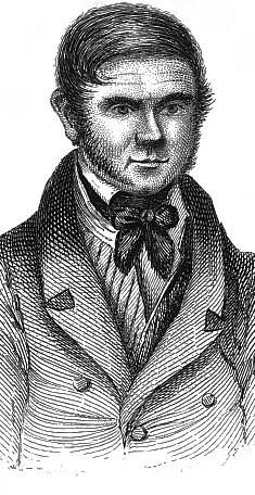 Retrato de William Burke feito pelo pintor George Andrew Lutenor em 1829 durante julgamento do serial killer.