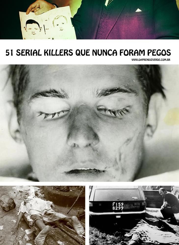 51 serial killers que nunca foram pegos - capa