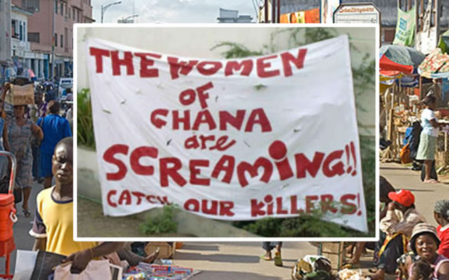 O Ritualista de Accra - serial killer