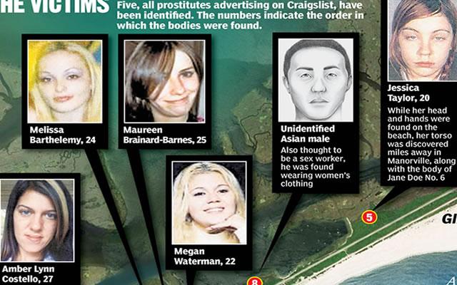 Serial killer de Long Island
