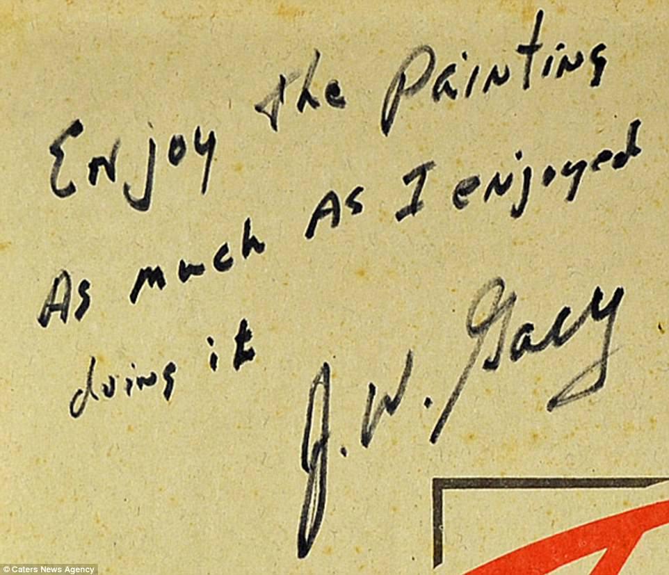 Essa nota escrita por Gacy sugere que o serial killer não tinha remorso por suas ações. Ela também foi a leilão.