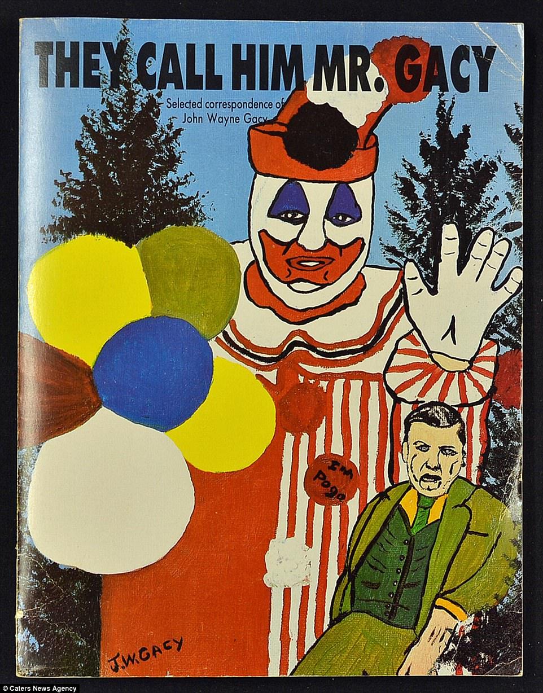 Gacy assassinou 33 adolescentes e adultos nos anos 70. Na prisão, a pintura foi um de seus hobbies.