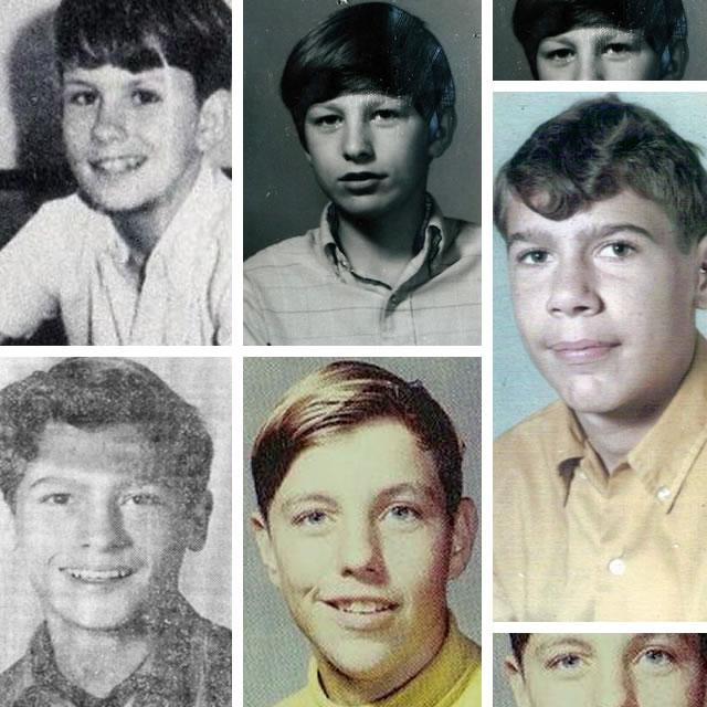 Acima: os irmãos Waldrop; Abaixo: Johnny Delome e Mark Scott. À direita, na foto maior, Randell Harvey.