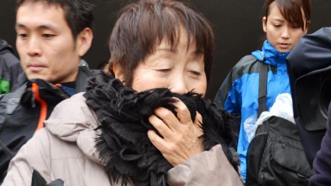 Chisako Kakehi fotografada em 2013 após ser presa sob acusação de matar seus amantes.