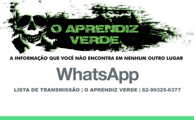 Lista de Transmissão - Whatsapp - O Aprendiz Verde