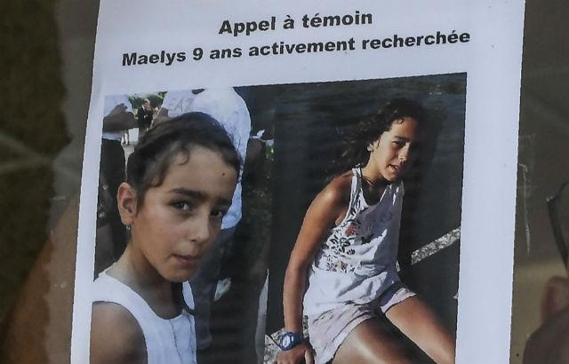 Maëlys de Araujo desapareceu em 27 de Agosto após ir a um casamento na Vila de Pont-de-Beauvoisin. Foto: The Local.