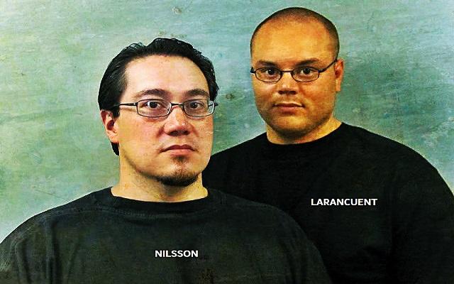 Ricard Nilsson e Pierre Larancuent