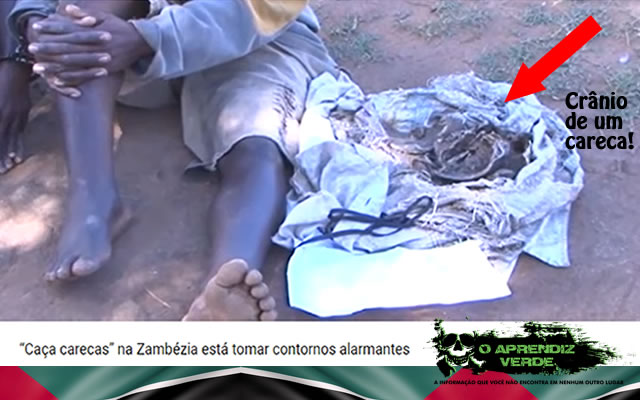 Carecas Moçambique - 101 Crimes Notórios e Horripilantes de 2017