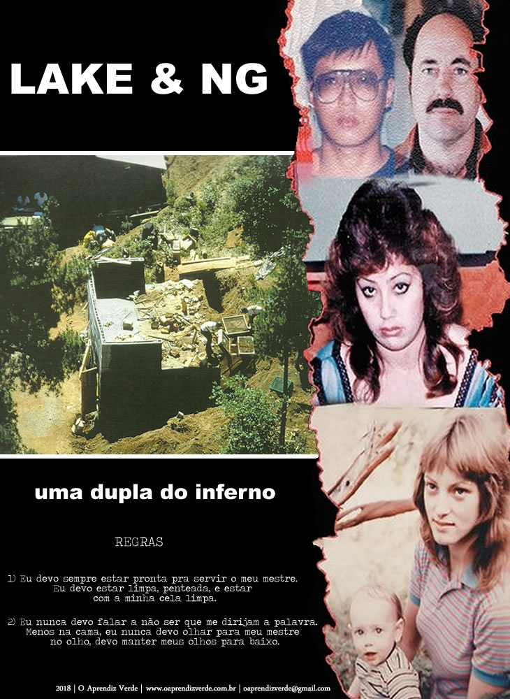 Lake e NG uma dupla do inferno - capa