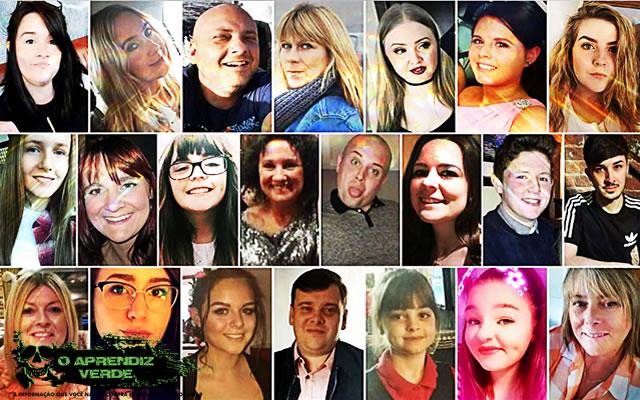 Manchester - 101 Crimes Notórios e Horripilantes de 2017