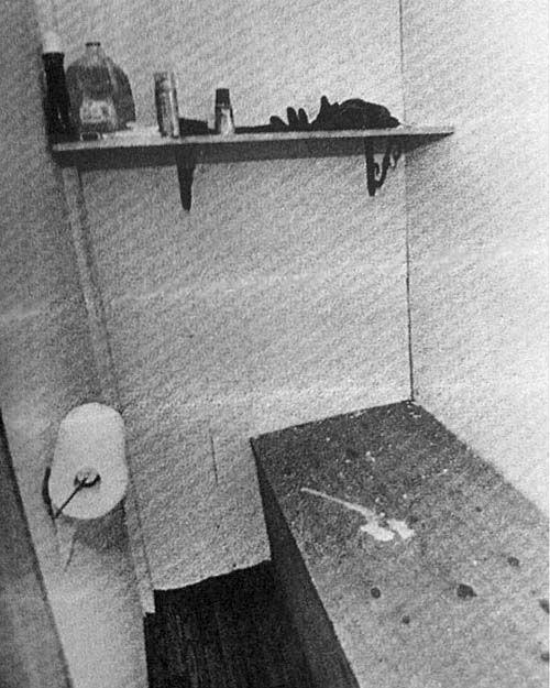 O terceiro cômodo encontrado no bunker. Foto: Departamento de Polícia do Condado de Calaveras.