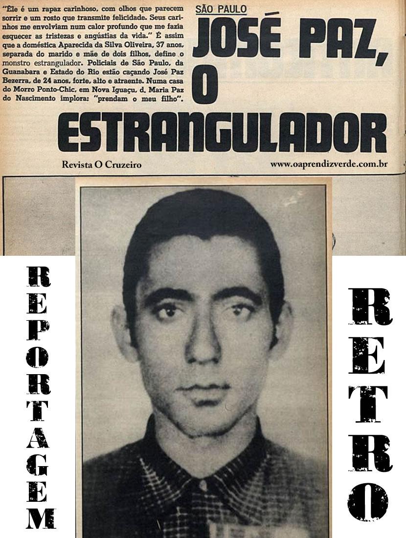 Jose Paz Bezerra - O Monstro Estrangulador - Capa