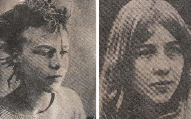 Andrea Wernicke e Urike Kutsch, assassinadas por Schiffer nos anos 1980. Foto: Bild.