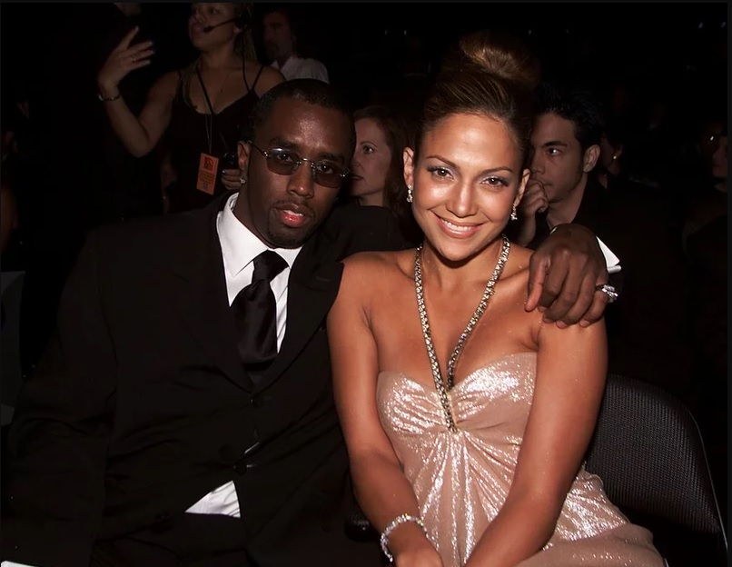 Puffy Combs e Jennifer Lopez. Foto: Kevin Winter/ImageDirect.
