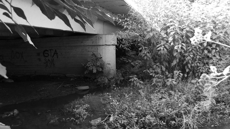 A ponte Hrushevsky, local onde o corpo da primeira vítima de Chikatilo, Yelena Zakotnova, 12 anos, foi encontrado em 1978. Foto: wikipedia.org/Nonexys.