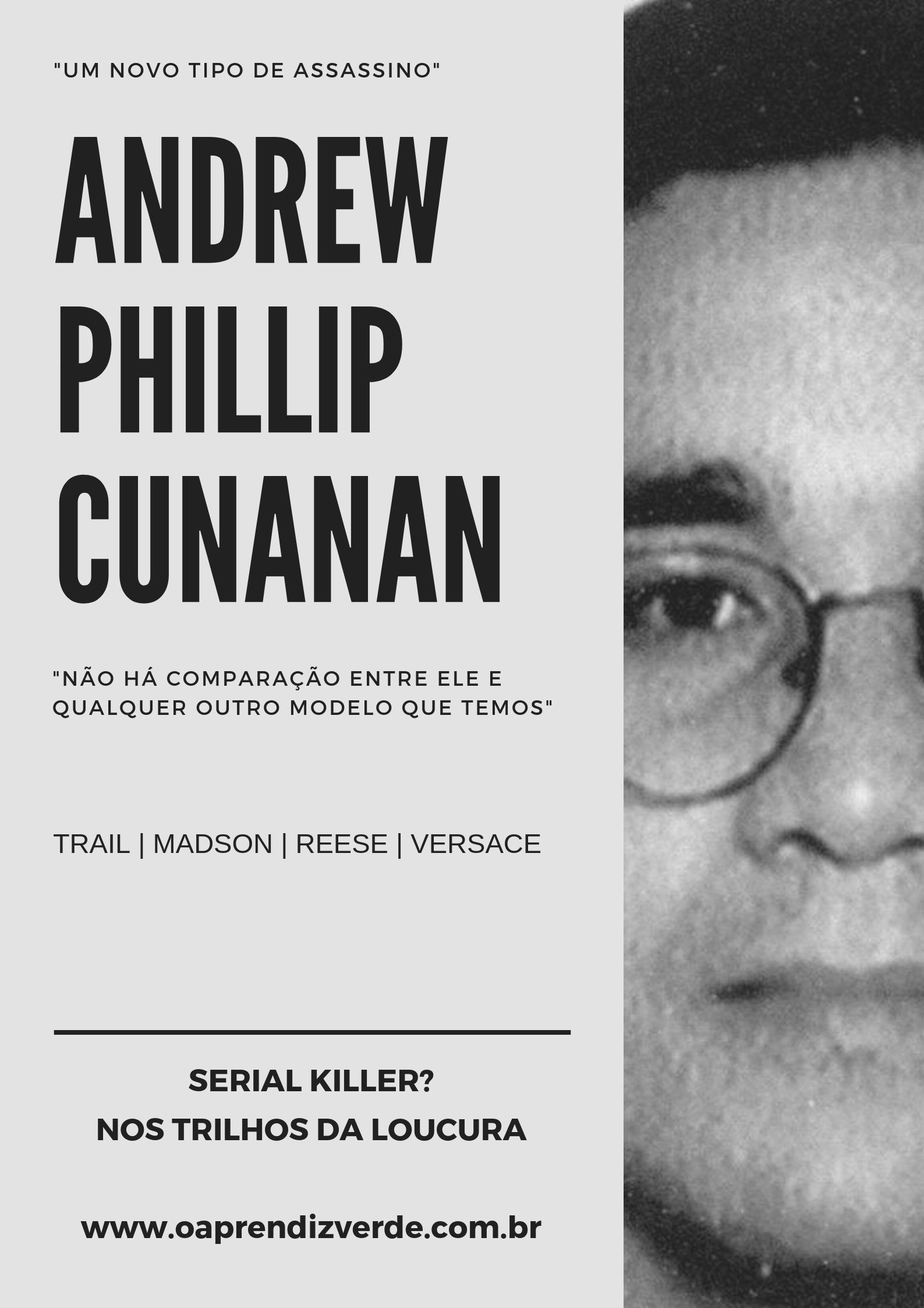 ANDREW CUNANAN - capa