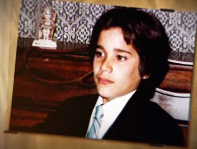 Andrew Cunanan aos 9 anos. Foto: ABC News.