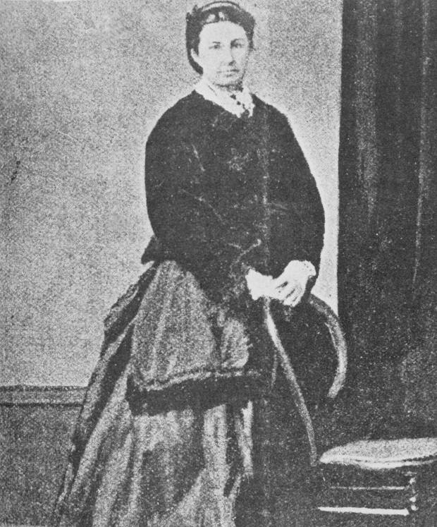 "A serial killer escocesa Williamina ""Minnie"" Dean em 1872."
